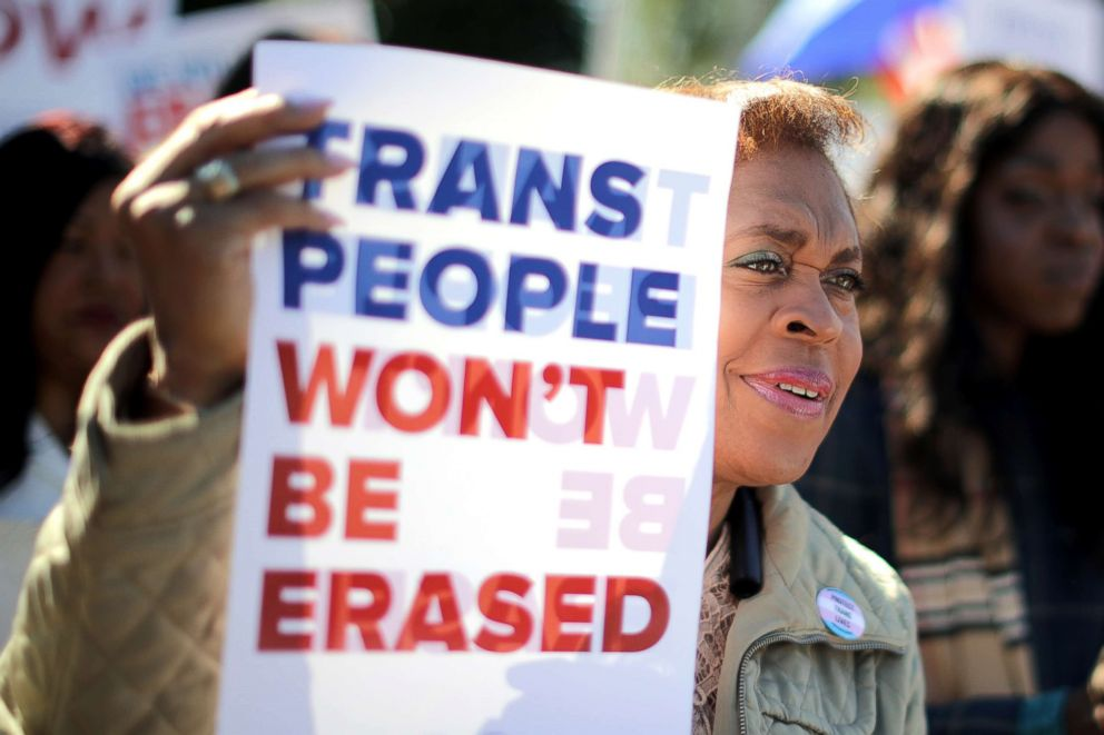 Not enough 'outrage' in wake of rampant anti-transgender