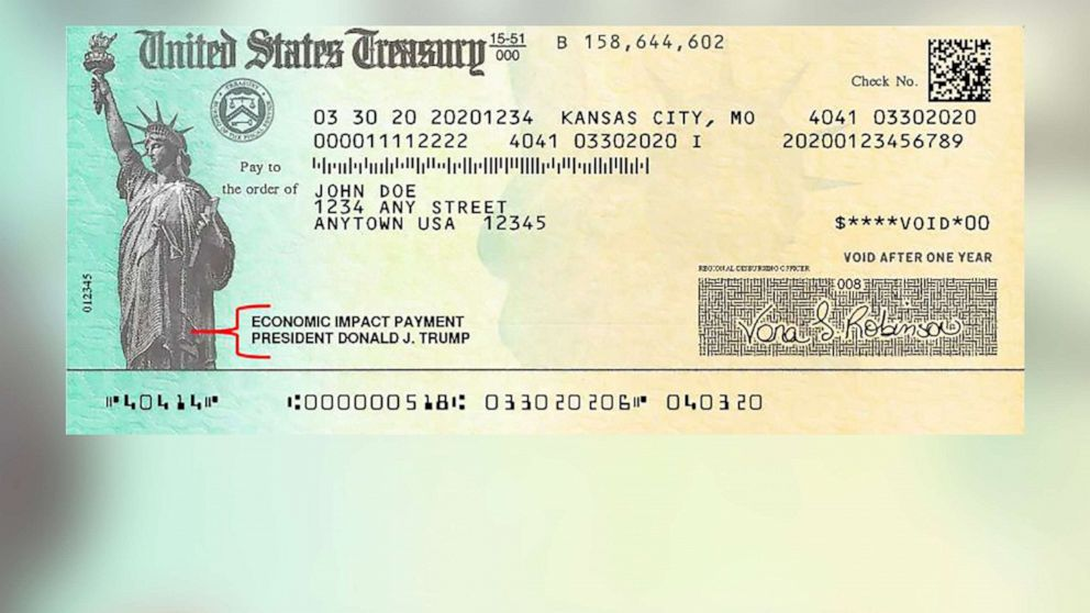 Treasury says economic impact paper checks are being sent out ...