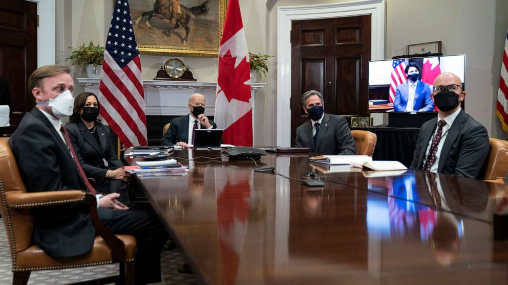 Trudeau tells Biden US leadership has been 'sorely missed'