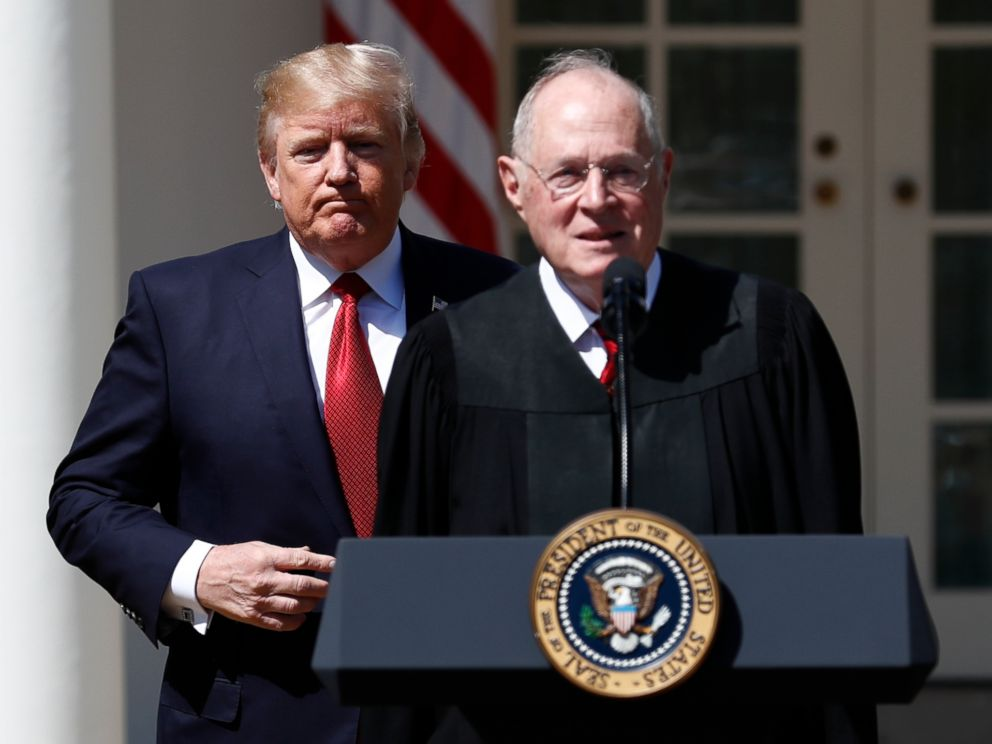 Supreme court nominee: Trump to announce Kennedy replacement