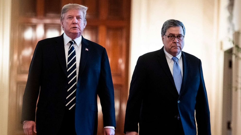 AG Barr complained to President Trump 'for weeks' about tweets ...