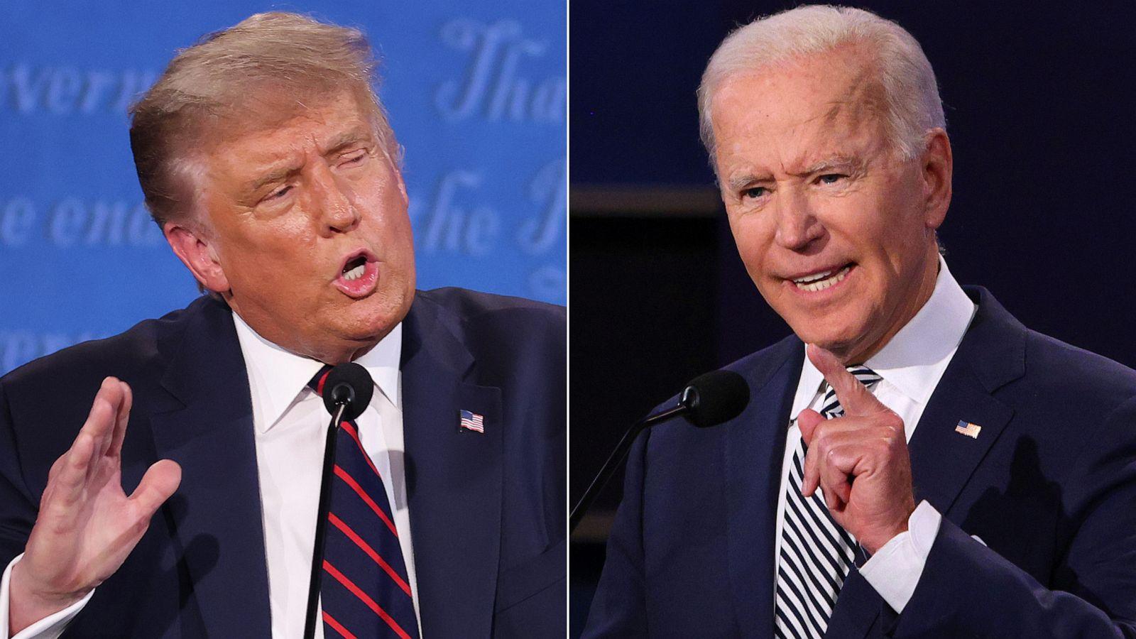 1st presidential debate between Trump and Biden spirals into chaotic clash