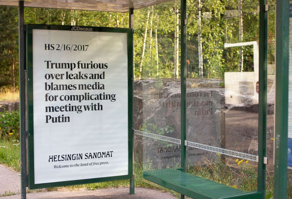 Trump, Putin Open Summit in Helsinki