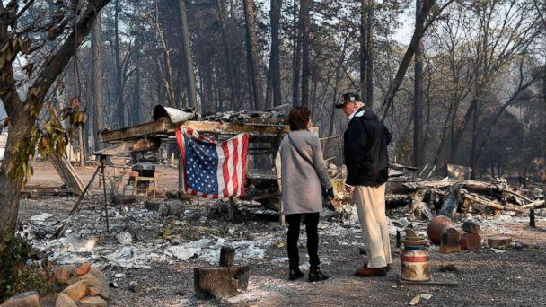 Trump threatens to cut FEMA funds to aid California fires