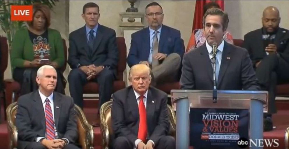 Image result for trump and michael cohen pictures