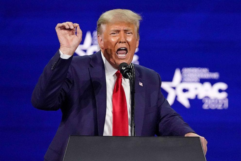 Trump's CPAC speech repeats false election fraud claims, teases 2024  presidential run - ABC News