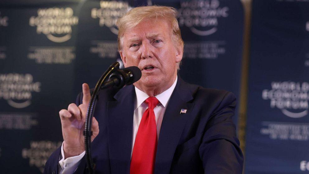 中impeachment、ホワイトハウスにはカウンターイベントを紹介トランプのアジェンダ