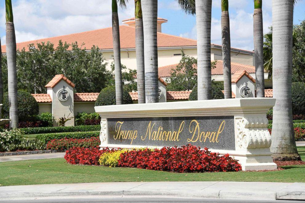PHOTO: Trump National Doral in Miami, Fla., April 3, 2018.