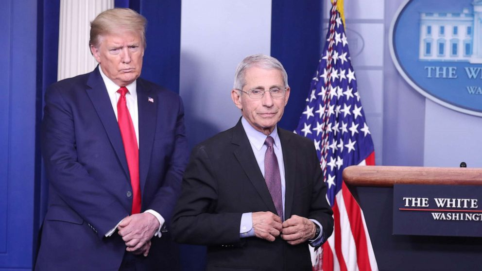Coronavirus updates: Fauci says meetings with Trump have ...