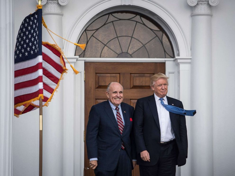 Trump says he didn't direct Giuliani's Ukraine efforts, but witnesses say otherwise