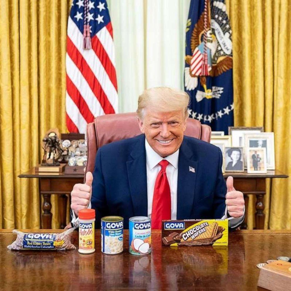 After ethics backlash over Ivanka Trump's posts about Goya beans ...