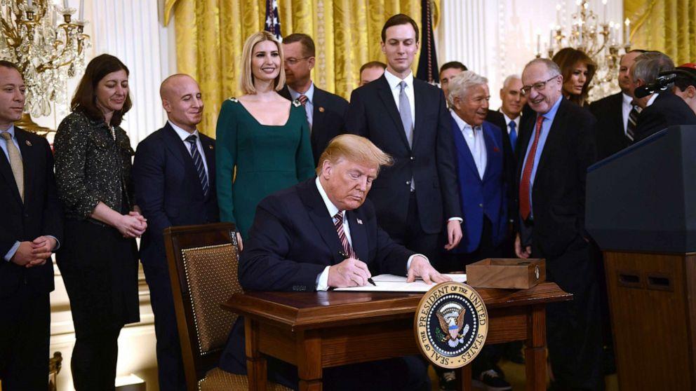 Trump signs executive order aimed at combating anti ...Trump Executive Order Tonight