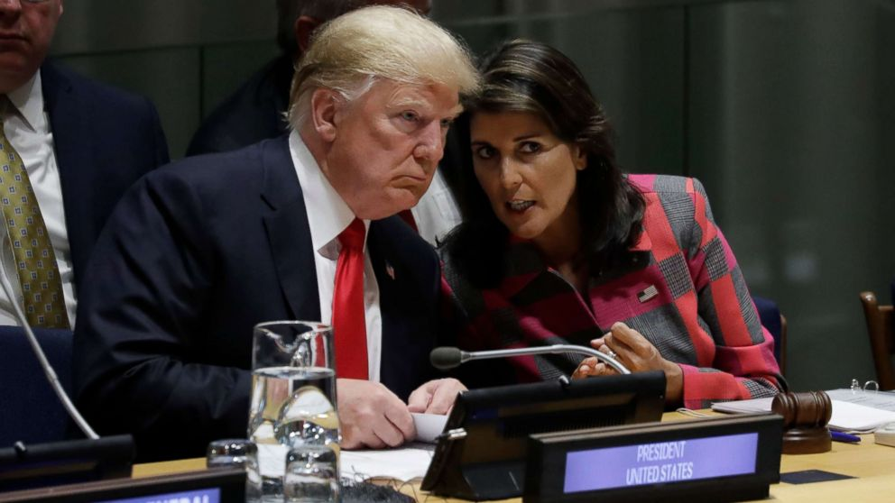 Trump will use a 'different tone' in UN speech today, Sanders says - ABC News