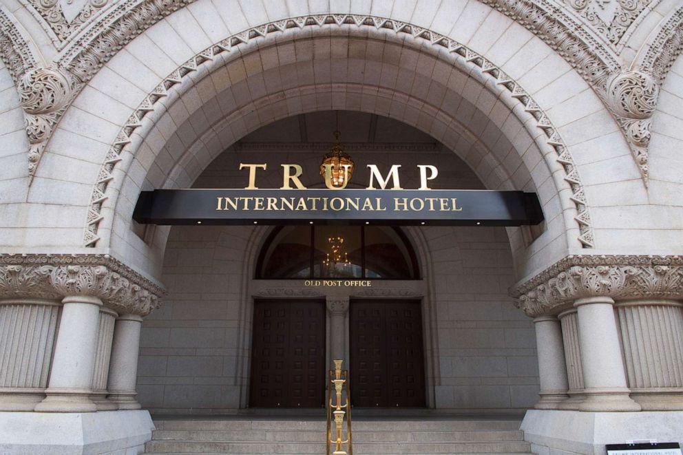 PHOTO: The Trump International Hotel in Washington, D.C., June 16, 2017.