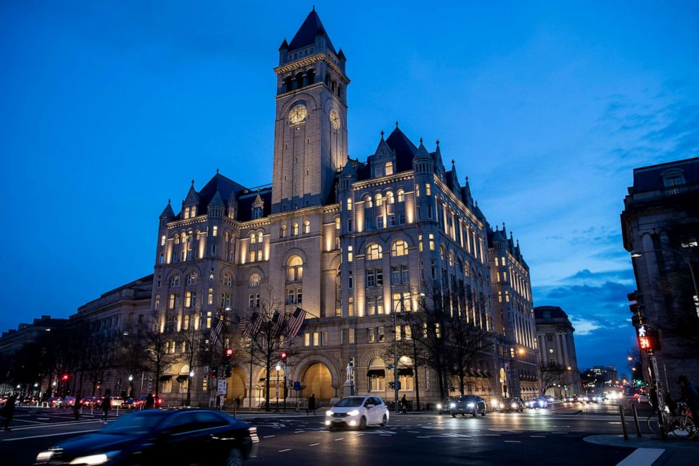 PHOTO: The Trump International Hotel in Washington D.C., Jan. 23, 2019.