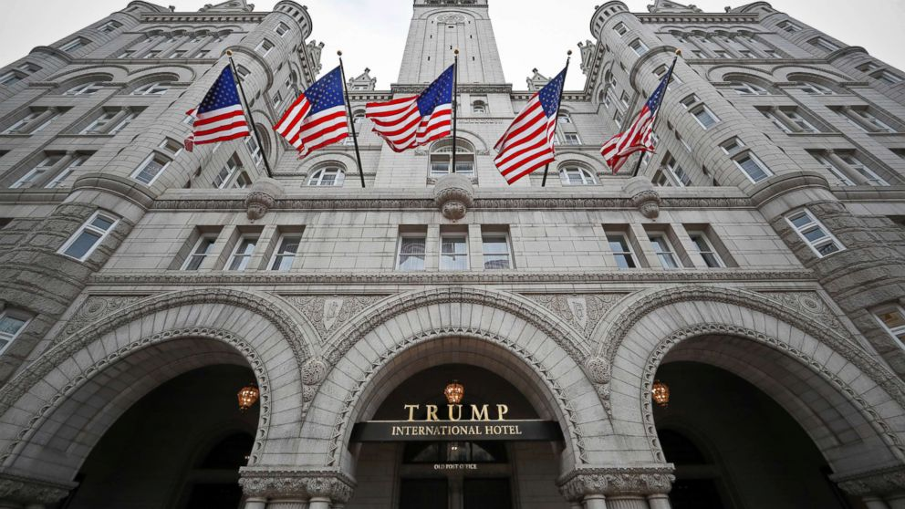 A photo from Dec. 21, 2016, of the Trump International Hotel on Pennsylvania Avenue in Washington, D.C.