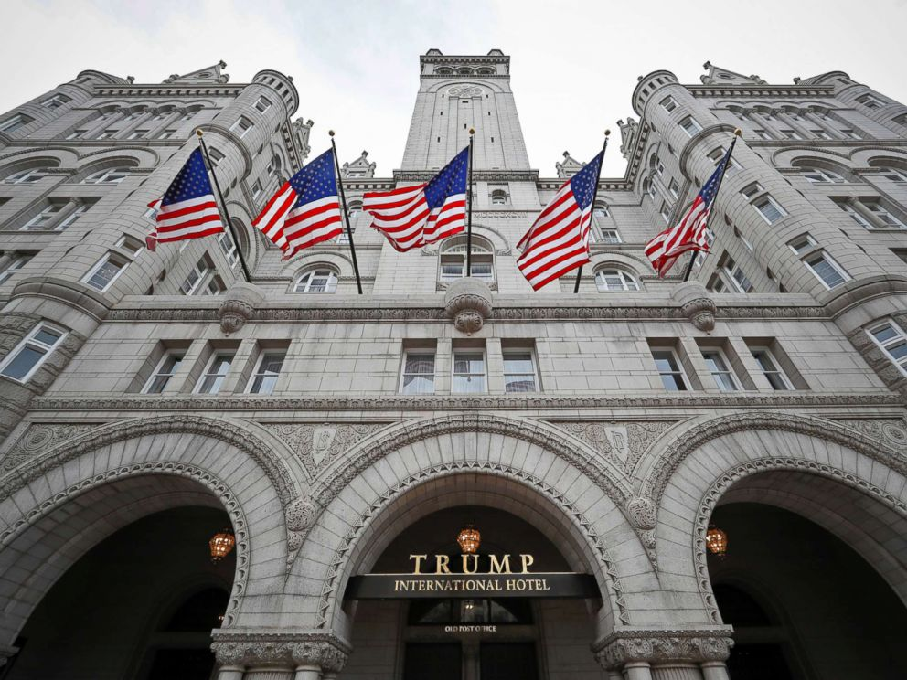 PHOTO: A photo from Dec. 21, 2016, of the Trump International Hotel on Pennsylvania Avenue in Washington, D.C.