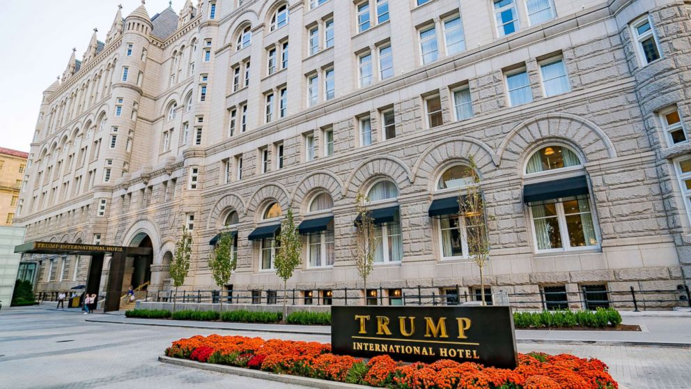 A general view of the Trump International Hotel in Washington, D.C. at the Old Post Office, Oct. 30, 2016.