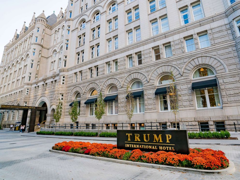 PHOTO: A general view of the Trump International Hotel in Washington, D.C. at the Old Post Office, Oct. 30, 2016.