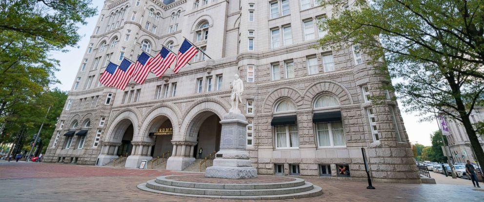PHOTO: In this file photo is a general view of the Trump International Hotel Washington, D.C. at the Old Post Office, Oct. 31, 2016, in Washington D.C.
