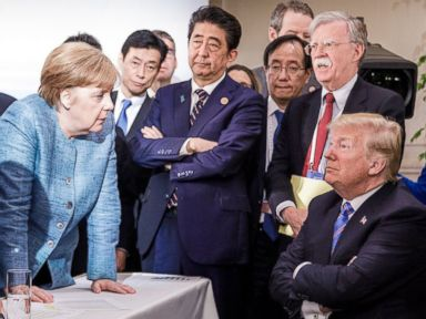 Trump leaves G-7 for North Korea summit, says Kim Jong Un has 'one-time shot'