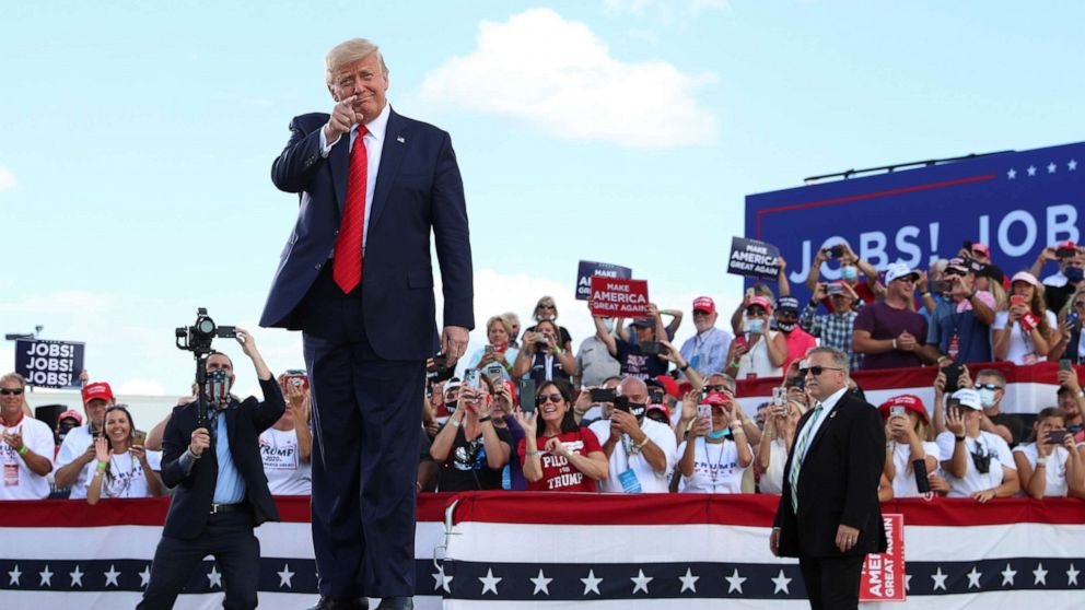 Trump to hold rally in Wisconsin county facing record-breaking coronavirus cases