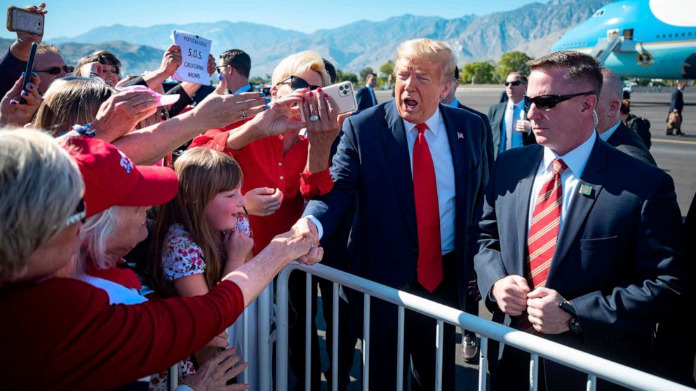 Trump's Phoenix rally kicks off counterprogramming spree