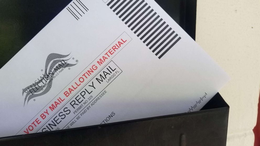 After criticizing voting by mail, Trump and first lady request mail-in ballots
