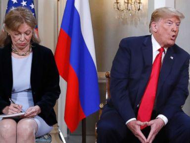Senate Democrats want to question Trump's interpreter at Putin summit
