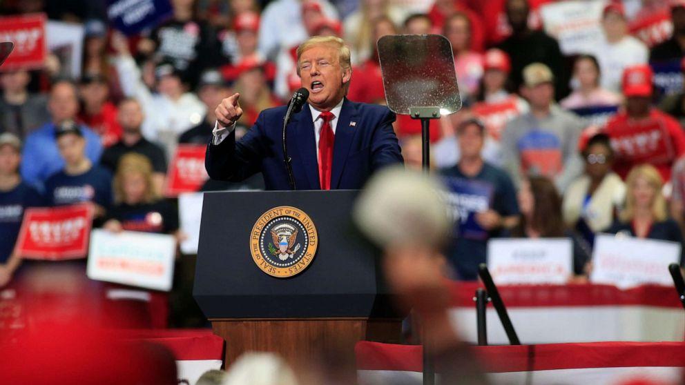 Trump trifft Wahlkampf in der NC-inmitten wachsender Corona-Virus Bedrohung