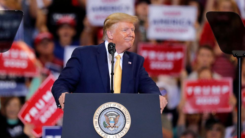 Trump rallies in Louisiana in last-minute push for governor's race