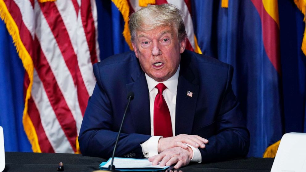 In Muir interview, Trump walks back talk of vaccine by year's end, touts progress on therapeutics