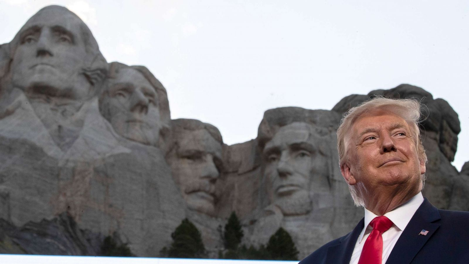 Trump denies WH asked about adding him to Mount Rushmore, then ...