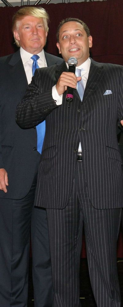 PHOTO:Donald Trump and Felix Sater attend Trump Soho Hotel Condominium Launch Party at Tribeca Rooftop in this Sept. 19, 2007 file photo in New York City.