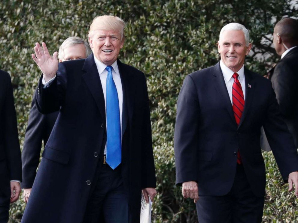Carlos Barria  Reuters FILEPresident Donald Trump walks with Vice President Mike Pence in Washington Dec. 20 2017