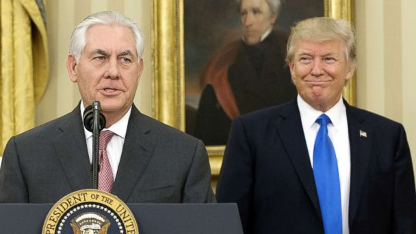Trump pushes back on reports of Tillerson ouster: 'We work well together'