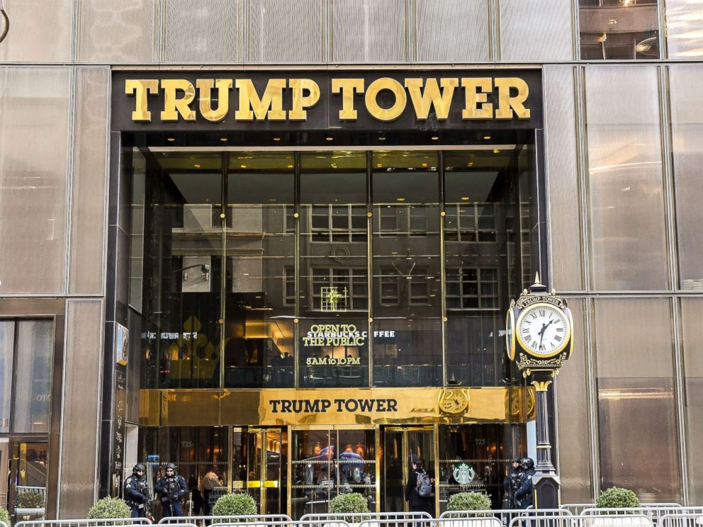 PHOTO: The exterior view of Trump Tower in New York is pictured, Jan. 10, 2017.