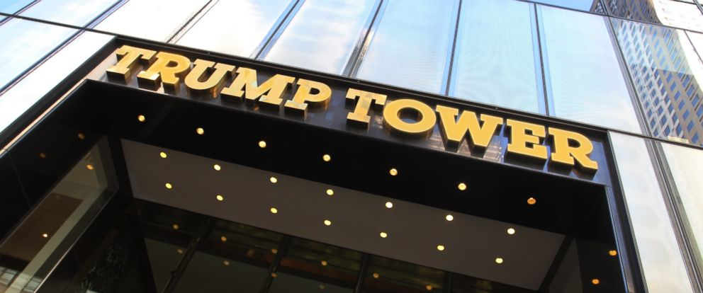 PHOTO: In this file photo shows the exterior of Trump Tower skyscraper at 5th Avenue and 56th Street, Aug. 24, 2013, in New York City.