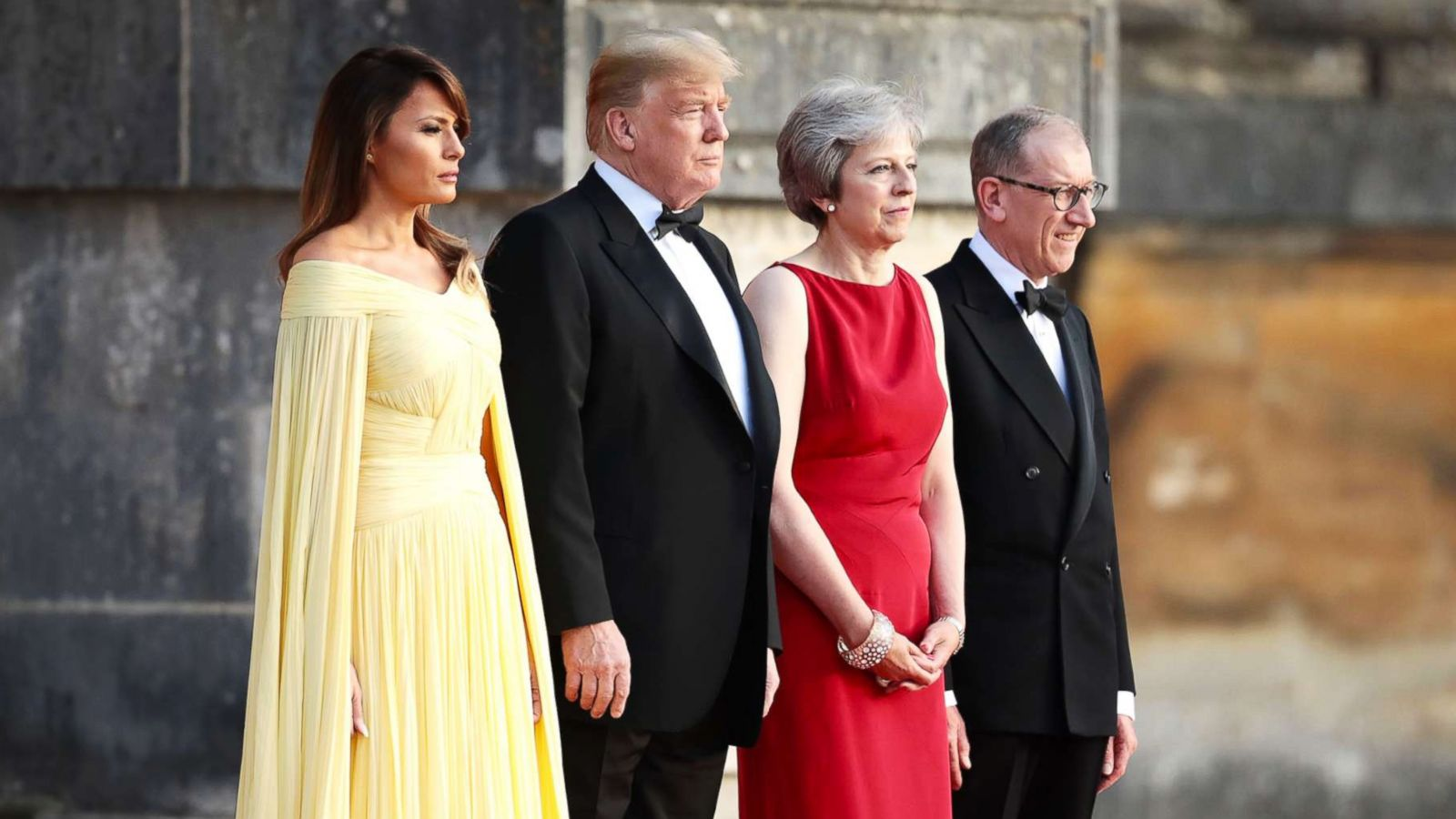 British Pageantry On Display As President Trump And First Lady