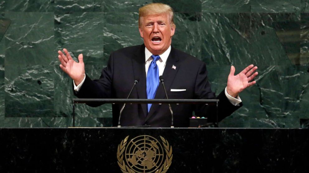 What to expect from President Trump's week at the UN General Assembly - ABC News