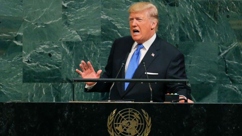 Reactions to Trump's UN speech split along party lines - ABC News