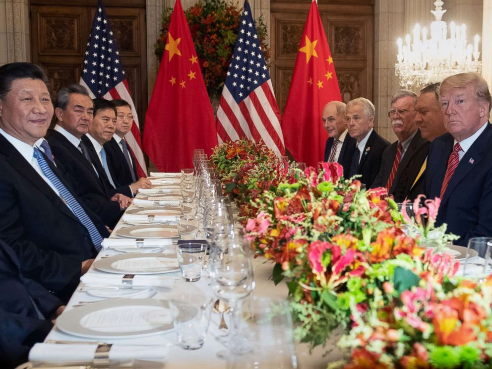 Trump Says Trade Talks With China 'Going Very Well'