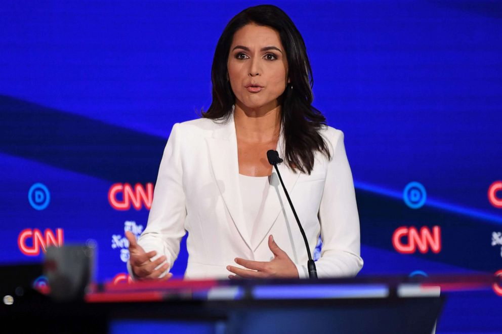 Tulsi Gabbard fires back at Hillary Clinton suggestion she's Russia's pawn