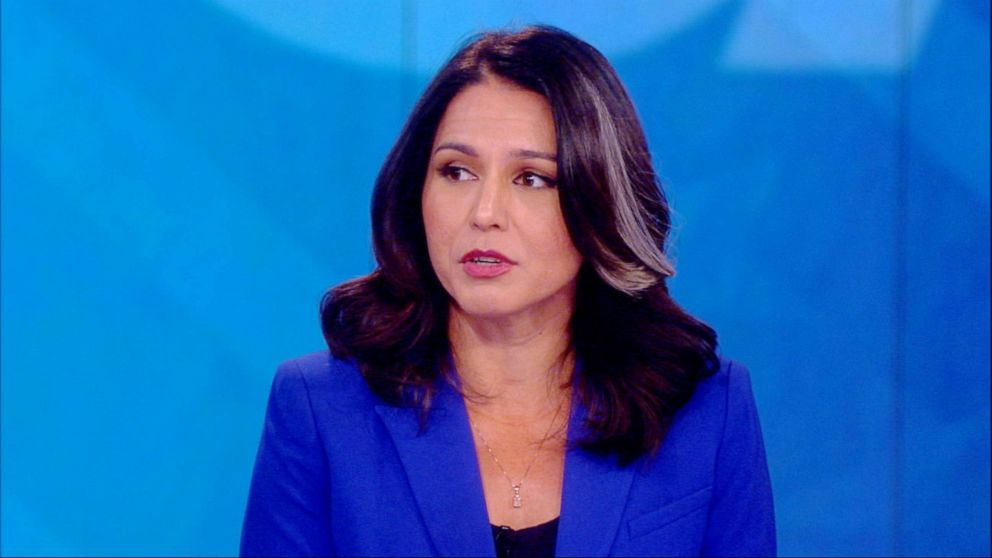PHOTO: Tulsi Gabbard appeared on The View, July 22, 2019.