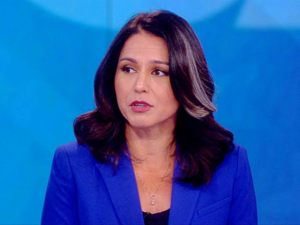 2020 presidential candidate Rep. Tulsi Gabbard on The View ...