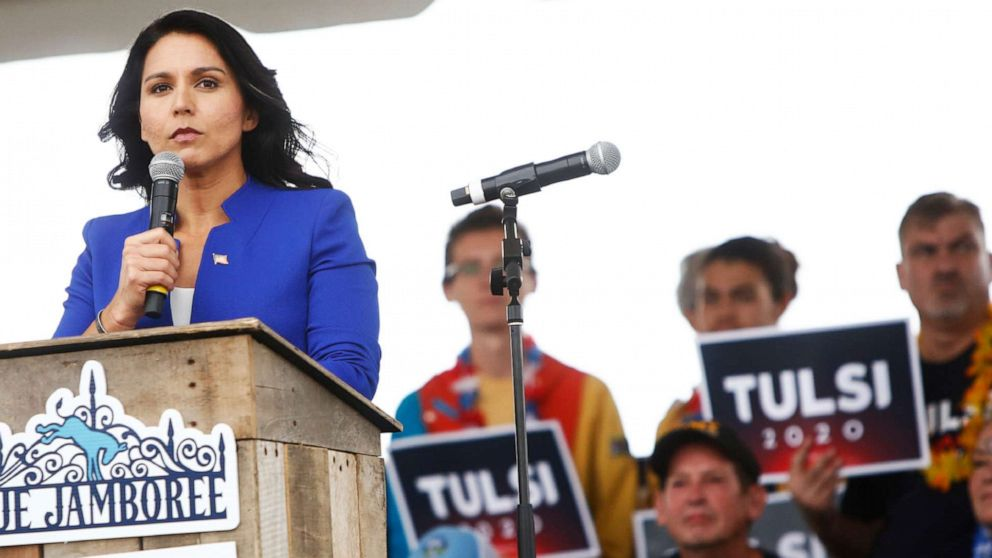 Former Hawaii governor calls for Rep. Tulsi Gabbard's resignation from Congress thumbnail