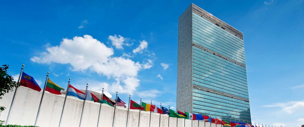PHOTO: The United Nations headquarters in New York City.