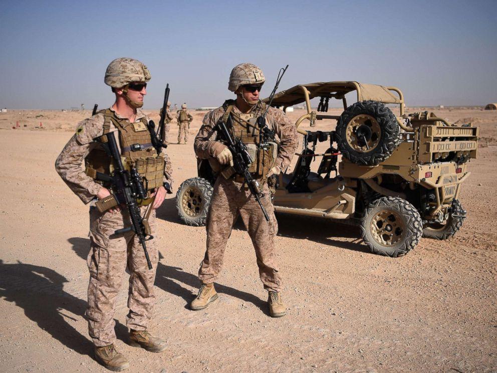 2名美国军人在阿富汗遇难