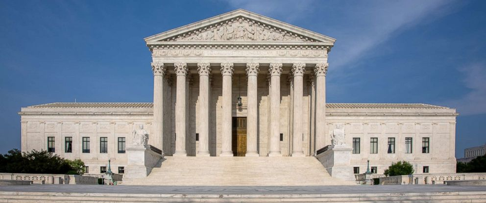 PHOTO: The U.S. Supreme Court Building in Washington D.C. is photographed May 15, 2018.