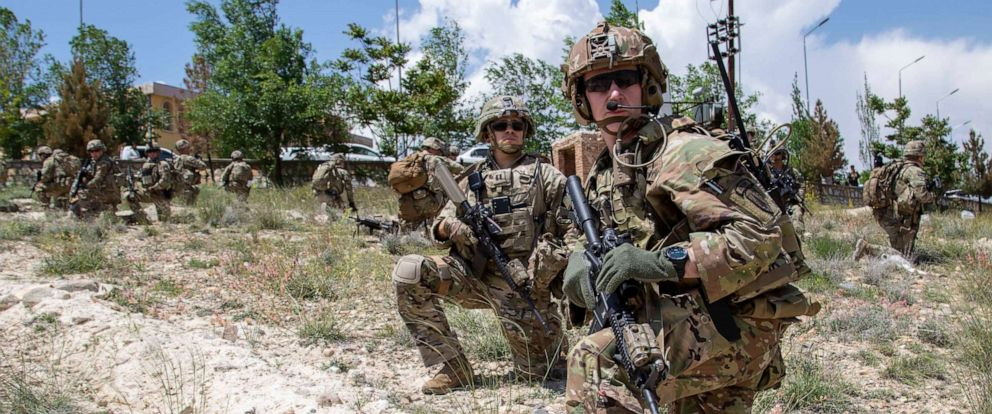 PHOTO: Advisors from the 2nd Security Force Assistance Brigade are pictured during their 2019 deployment to Afghanistan, May 20, 2019.